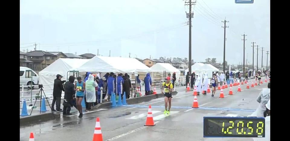 Ngưng Phúc finish seventh at Asian 20km Race Walking Championship