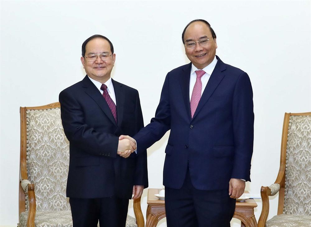 Prime Minister meets party chief of Guangxi Zhuang Autonomous Region