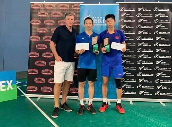 Minh wins badminton tournament in New Zealand
