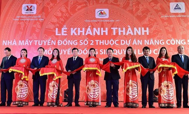 Lào Cai inaugurates copper plant
