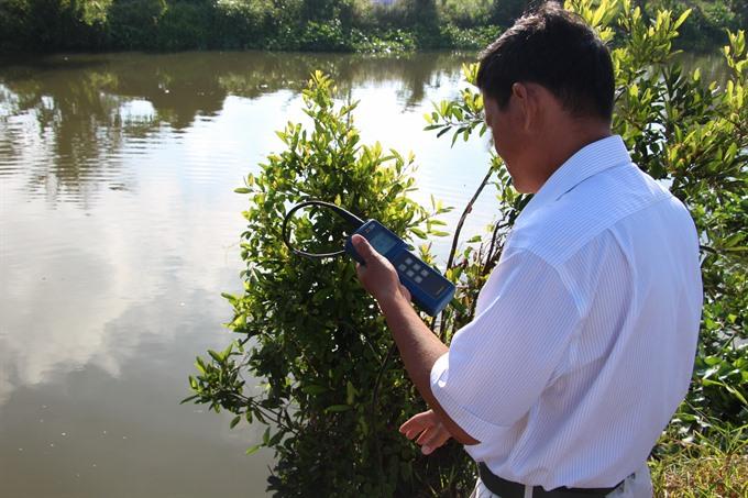 Saltwater intrusion hits Mekong Delta