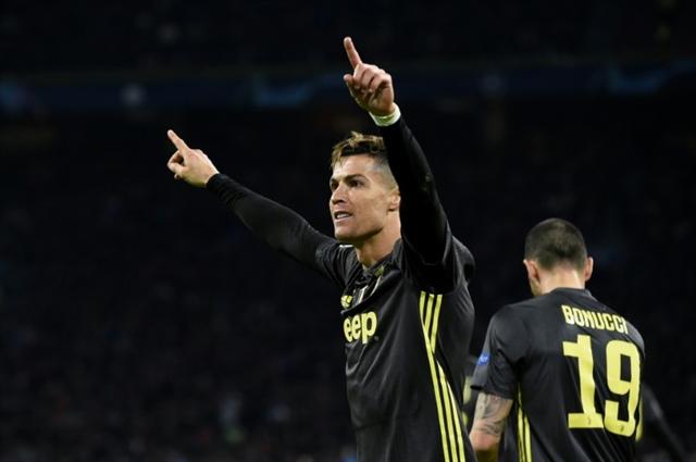 Ronaldo strikes to give Juventus edge against impressive Ajax