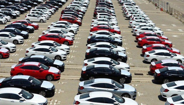Sales of locally-assembled cars down imported cars sharply up