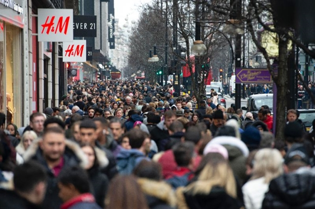 Population of Earth to reach 9.7 billion in 2050: UN