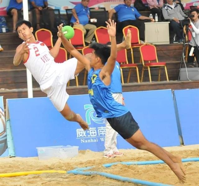 Việt Nam win three games at Asian Beach Handball Championships