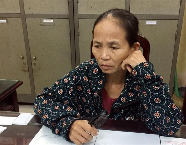 Elderly woman arrested for heroin trafficking
