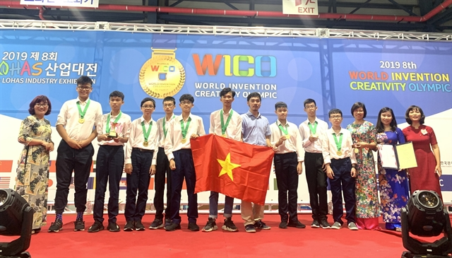 Hà Nội students win big for their inventions