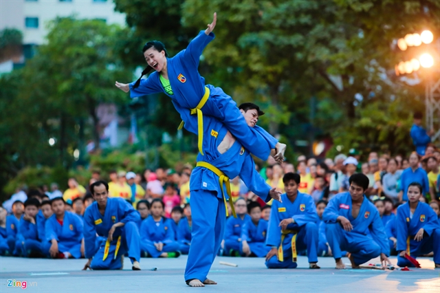 Traditional martial arts to be performed next week