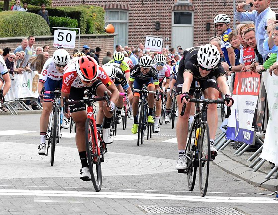 Thật second in Belgian cycling event