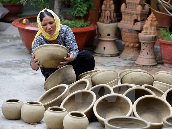 Ninh Thuận focus on craft village development