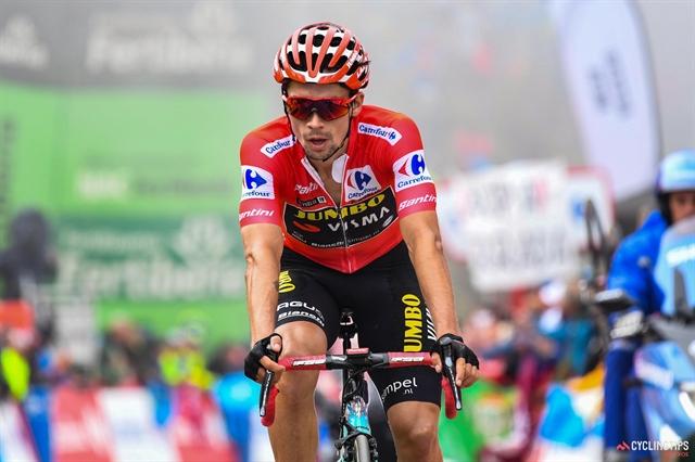Vuelta leader Roglic extends Jumbo-Visma contract