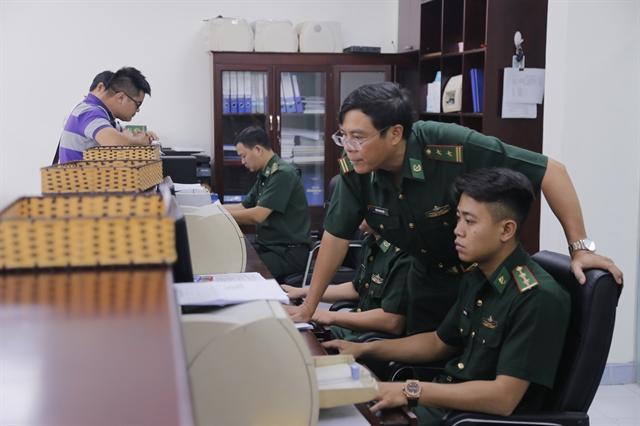 Border Defence Force makes HCM City ports friendlier for foreign vessels crews