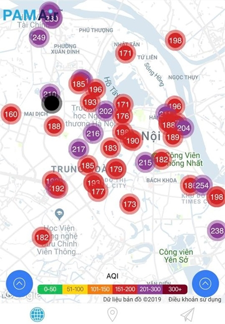 Air pollution in Hà Nội exceeds red-warning level
