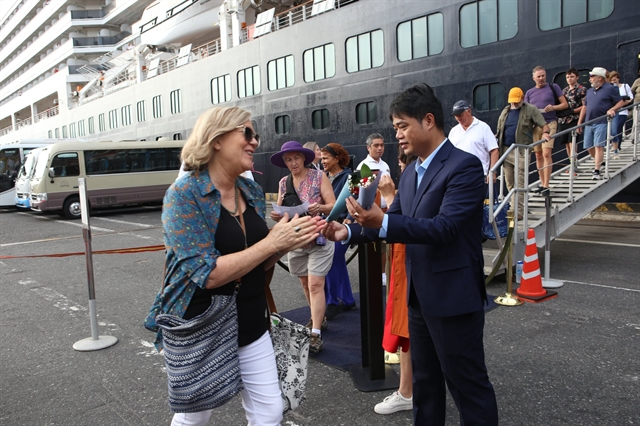 Tiên Sa Port hosts first cruise of the New Year