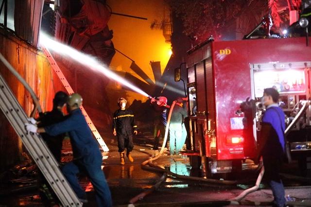 Fearless firefightersface danger hardship