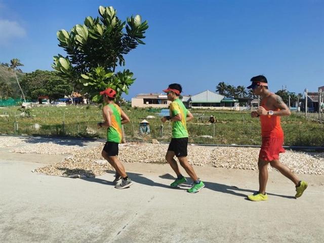 Tiền Phong Marathon held on Lý Sơn Island