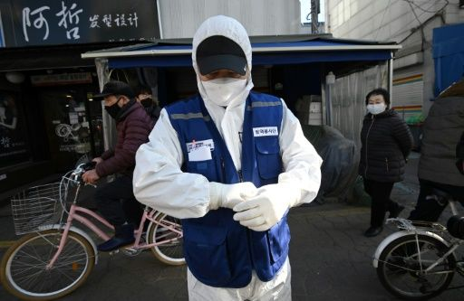 South Korea coronavirus cases jump by half