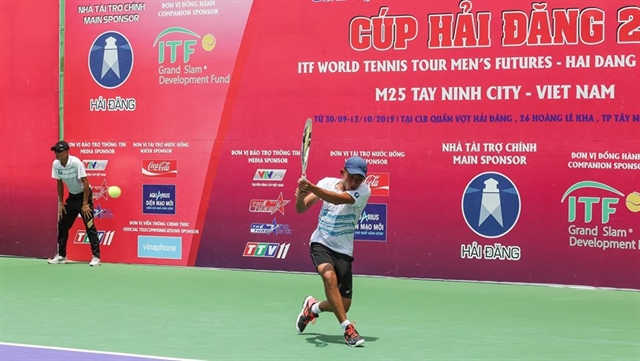Phương advances Nam aims to win Egyptian tennis tournament
