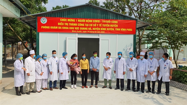 Last coronavirus patient discharged from hospital in Vĩnh Phúc Province