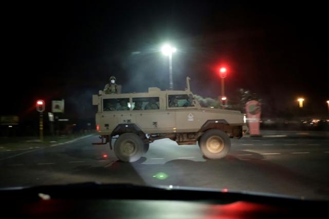 South Africa begins unprecedented military-patrolled lockdown