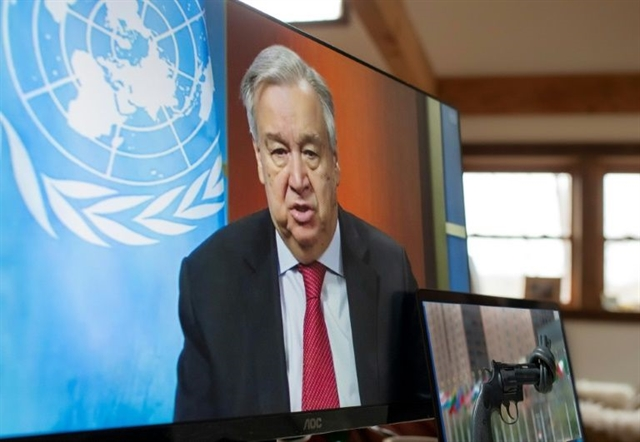 UN chief urges govts to protect women during virus lockdown
