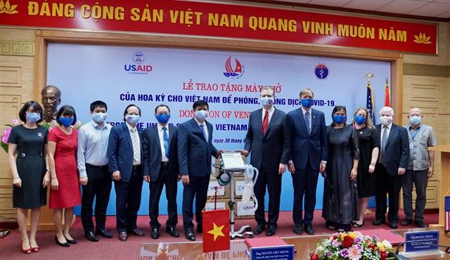 US provides ventilators to Việt Nam