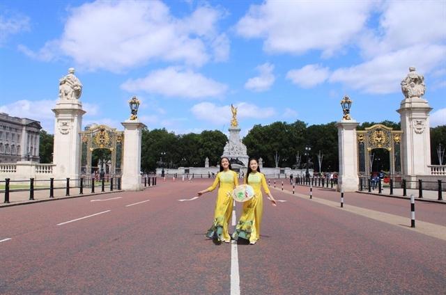 Vietnamese icon takes on British influence