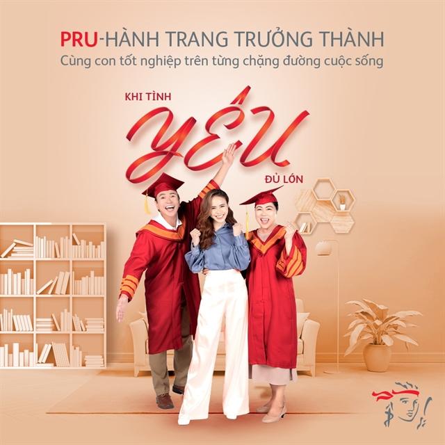 Prudential introduces new education plan Pru- Hành Trang Trưởng Thành