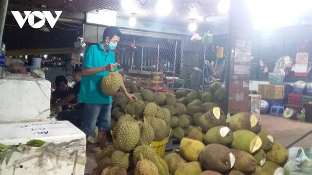 Hóc Môn Wholesale Market in HCM City reopens
