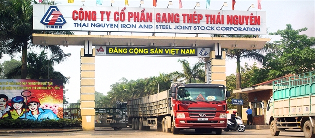 Thái Nguyên Iron and Steel JS Corporation reporthuge third-quarter profits