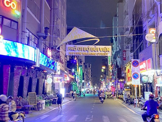 Night businesses on Bùi Viện Street suffer heavy losses