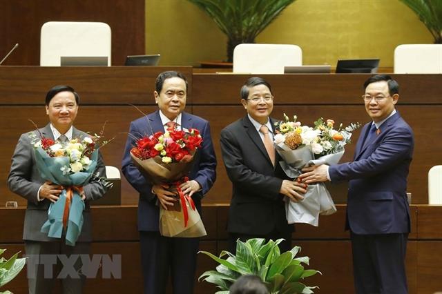 NA has three new vice chairmen