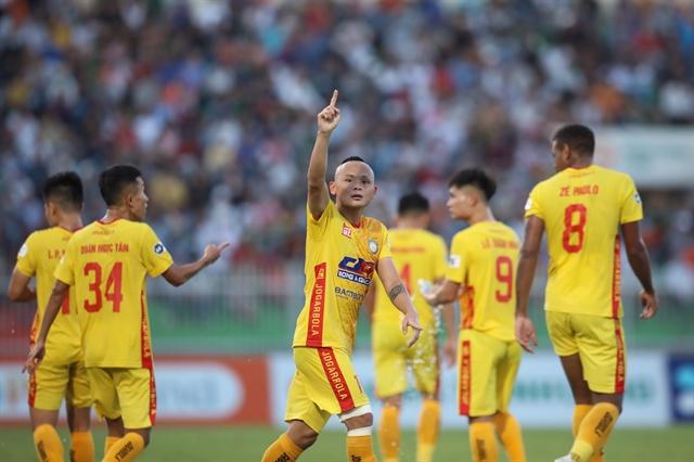 Thanh Hóa beat Bình Định in V.League 1