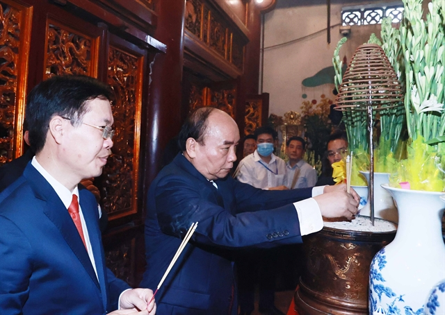 Leaders and citizens commemorate Hùng Kings