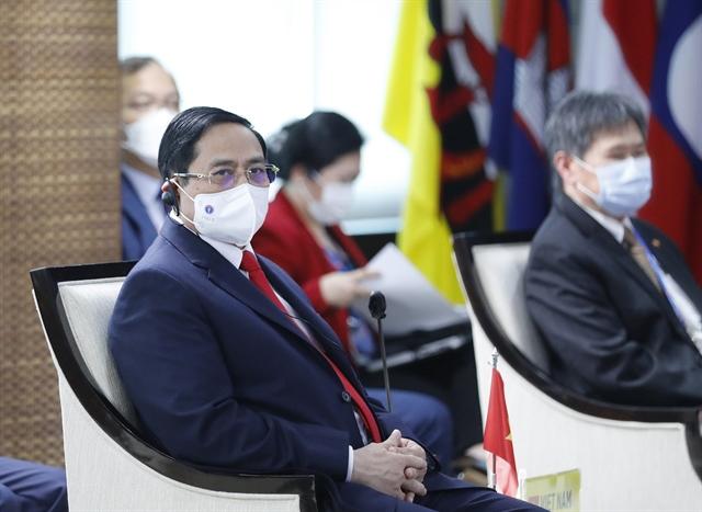 Photos PM Phạm Minh Chính attends the ASEAN Leaders Meeting