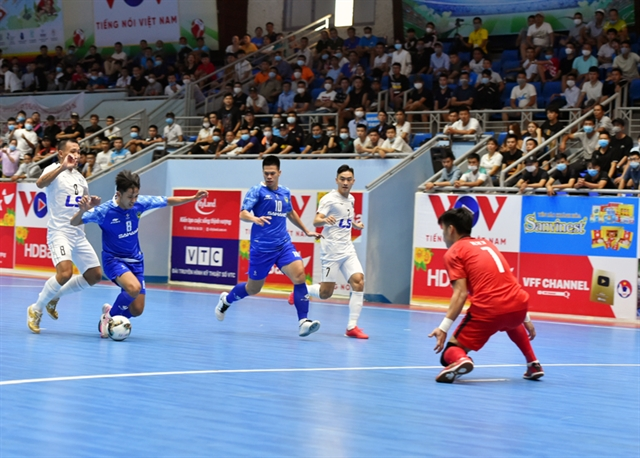 Việt Nam to face Lebanon for place at Futsal World Cup