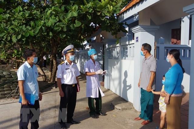 Trường Sa health system deploysCOVID-19 preventionmeasures