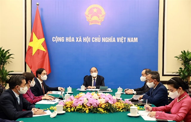 Japanese PM Suga reaffirms vaccine support for Việt Nam