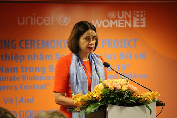 Australian-funded initiative aims to eliminate violence against women children