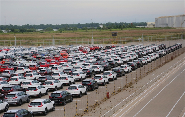 More than 1.1 billion spent on car imports in four months