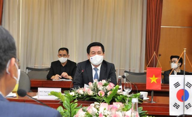 Việt Nam South Korea seek to promote trade industry partnership