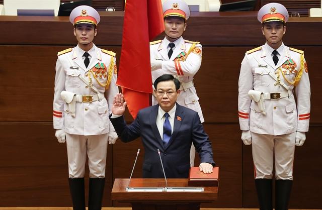 Vương Đình Huệ re-elected Chairman of the National Assembly
