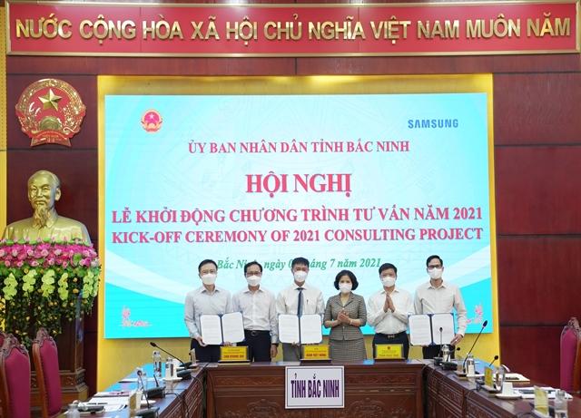 Samsung andBắc Ninh to implement dual goals