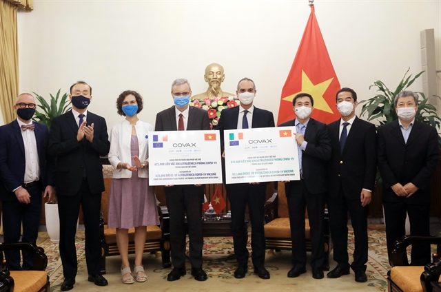 Việt Nam receives 1.5 million COVID-19 vaccine doses donated by Italy France