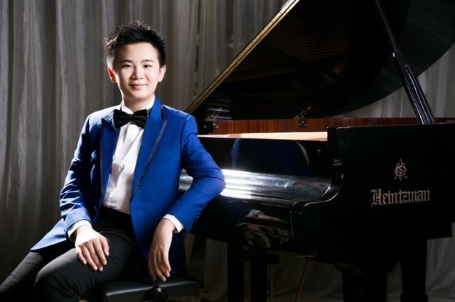 13 year-old Hong Kong piano prodigy returns to HCM City