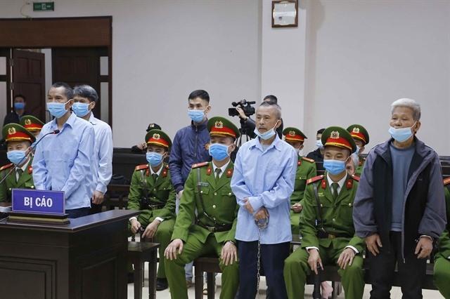 Appeal trial begins for six defendants involved in Đồng Tâm incident
