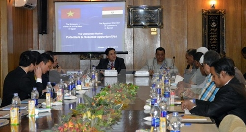 VN seeks out new trade deals in Egypt