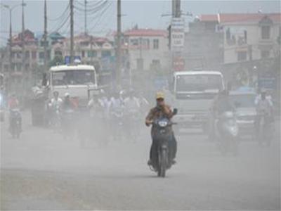 Ha Noi air pollution 'hazardous