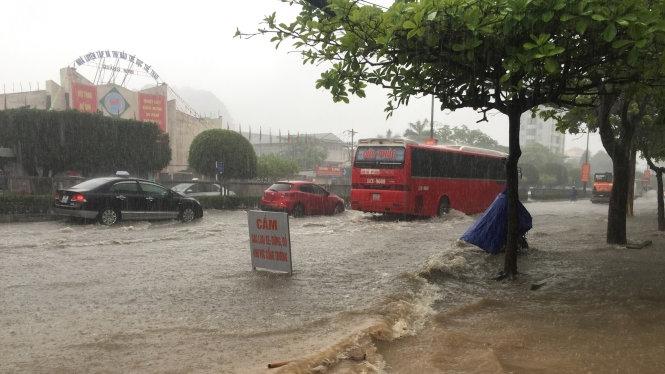 Heavy rain drenches much of Quảng Ninh