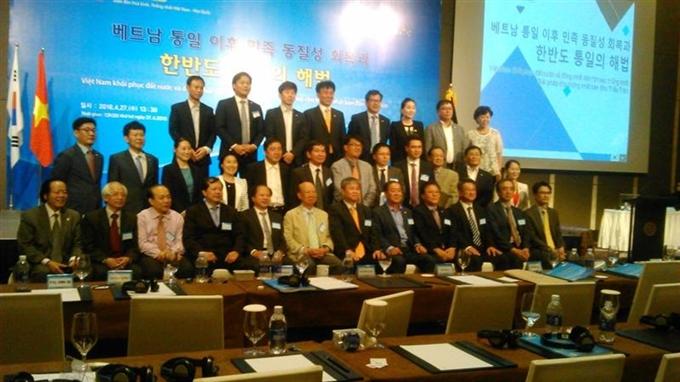 Forum on Việt Nams lessons for Korean unification